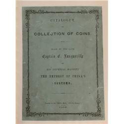 Longueville, Captain C. Catalogue of Collection of Coins Made by the late Captain C. Longueville of