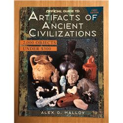 Malloy, Alex G. Official Guide to Artifacts of Ancient Civilizations
