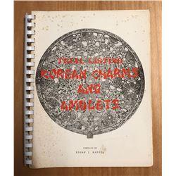 Mandel, Edgar J. Trial Listing of Korean Charms & Amulets