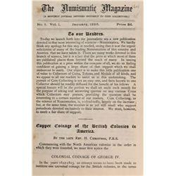 Nunn, C. Hearn. The Numismatic Magazine: Volumes 1-IV