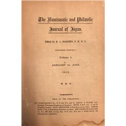 Ramsden, H.A. [editor]. The Numismatic and Philatelic Journal of Japan