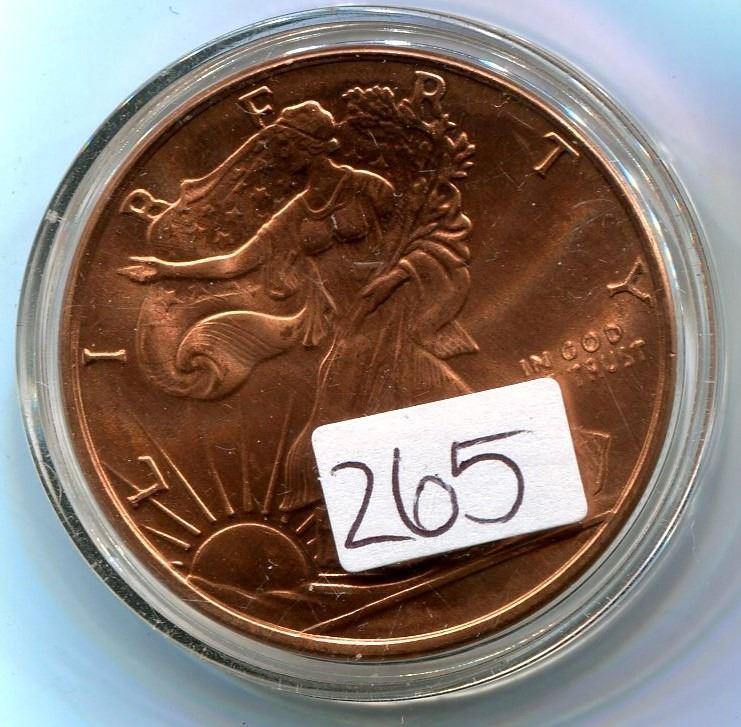 copper 999 fine liberty coin worth