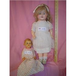 2 Vintage Dolls One Is Horsman