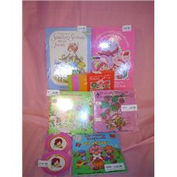 Strawberry Shortcake Books Plates