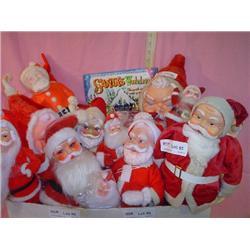 Santas Vintage to New Some Squeaky