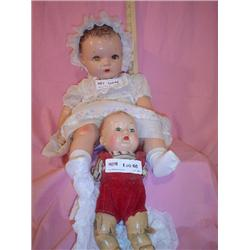 2 Composition Dolls One is Ideal Montan
