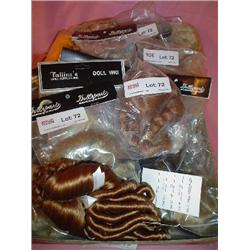 Assorted Doll Wigs Bagged & Loose