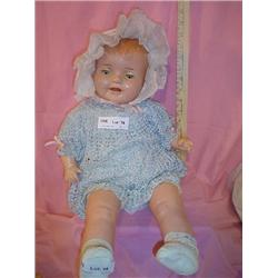 Doll Cloth Stuffed w Compo.head.