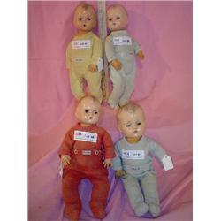 4 Baby Boy Dolls MT