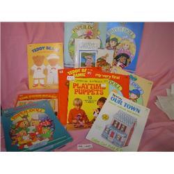Paper Doll Books Mattel Whitman Golden