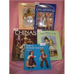5 Doll Books Costume China French Kruse
