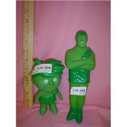 Jolly Green Giant & Little Sprout Figur
