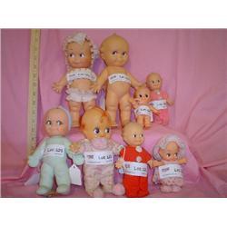 Nice assortment of Kewpie Dolls 8