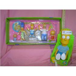 Bart Simpson Doll Simpsons Family MIB