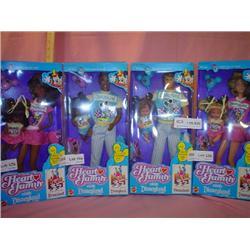 The Heart Family Disneyland Mattel MIB