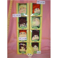 Cabbage Patch Ear Muffs & Doll Head