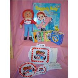 Raggedy Ann Andy Doll Dishes Books