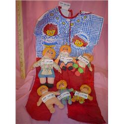 Rag Dolls Raggedy Ann & Andy Outfit