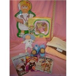 Cabbage Patch Pin-Ups Slippers Doll Sew