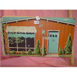 Doll House w/ Furniture 1963 Ideal