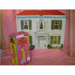 Doll House Ideal Barbie Francie Case Ma