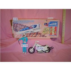 Evel Knievel Skycycle Doll Motorcycle I