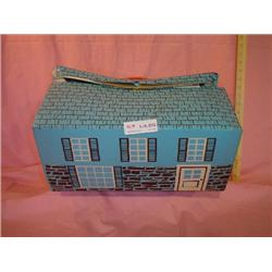 Large Plastic Cardboard Doll House