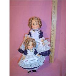 Shirley Temple Dolls Ideal Littlest Reb
