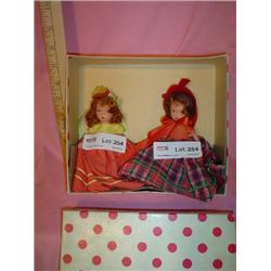 2 Bisque Nancy Ann Storybook Dolls