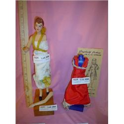 Simplicity Pattern Dressmakers Doll Man