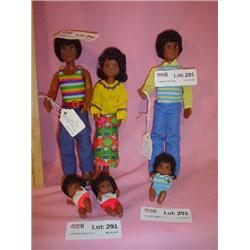 Happy Fun Family Dolls Mattel MT
