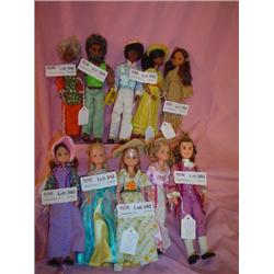 Star Spangled Happy Family Dolls Mattel