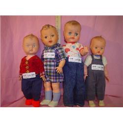4 Boy Dolls Uneeda Other Montana