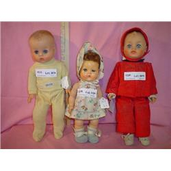 3 Dolls Horsman Tiny Tears Amer Char