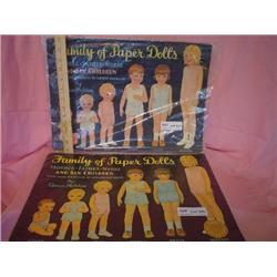 2 Pkgs of Queen Holden Paper Dolls