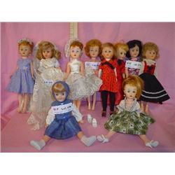 10 Fancy-Dressed Fashion Dolls.