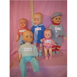 5 Boy Dolls Little One EffanBee 19