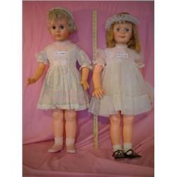 2 Dolls Possibly Patty Playpal Nasco