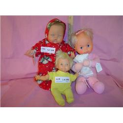 3 Thumbelina Dolls by Ideal MT