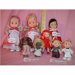 8 Dolls Kelloggs Remco Heidi Montana