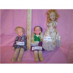 Dolls Vintage Heidi Compos Miles City M