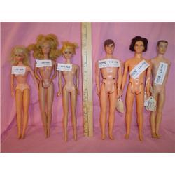 Barbie Dolls Mattel Repaint Artists Ken