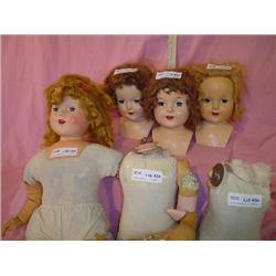 Doll Heads & Bodies Miles City Montana