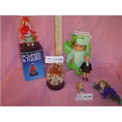 6 Tiny Dolls 2 are Pixies & Posies MT