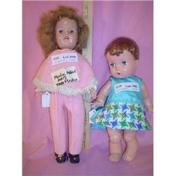 Dolls EffanBee Plastic Molded Arts Can