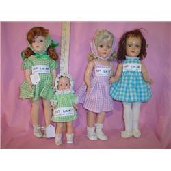 Girl Dolls Alex Composition Plastic MT