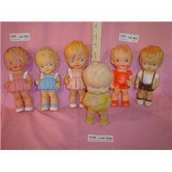 6 Dolls The Sun Rubber Co Boys & Girls