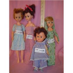 4 Teen Girl Dolls Miles City Montana
