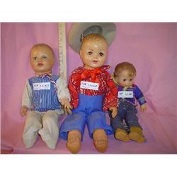 Boy Dolls Stuffed Skin ArranBee Montan