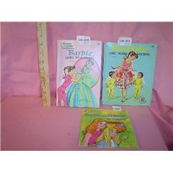 Doll Books Barbie Skipper Hardback MT